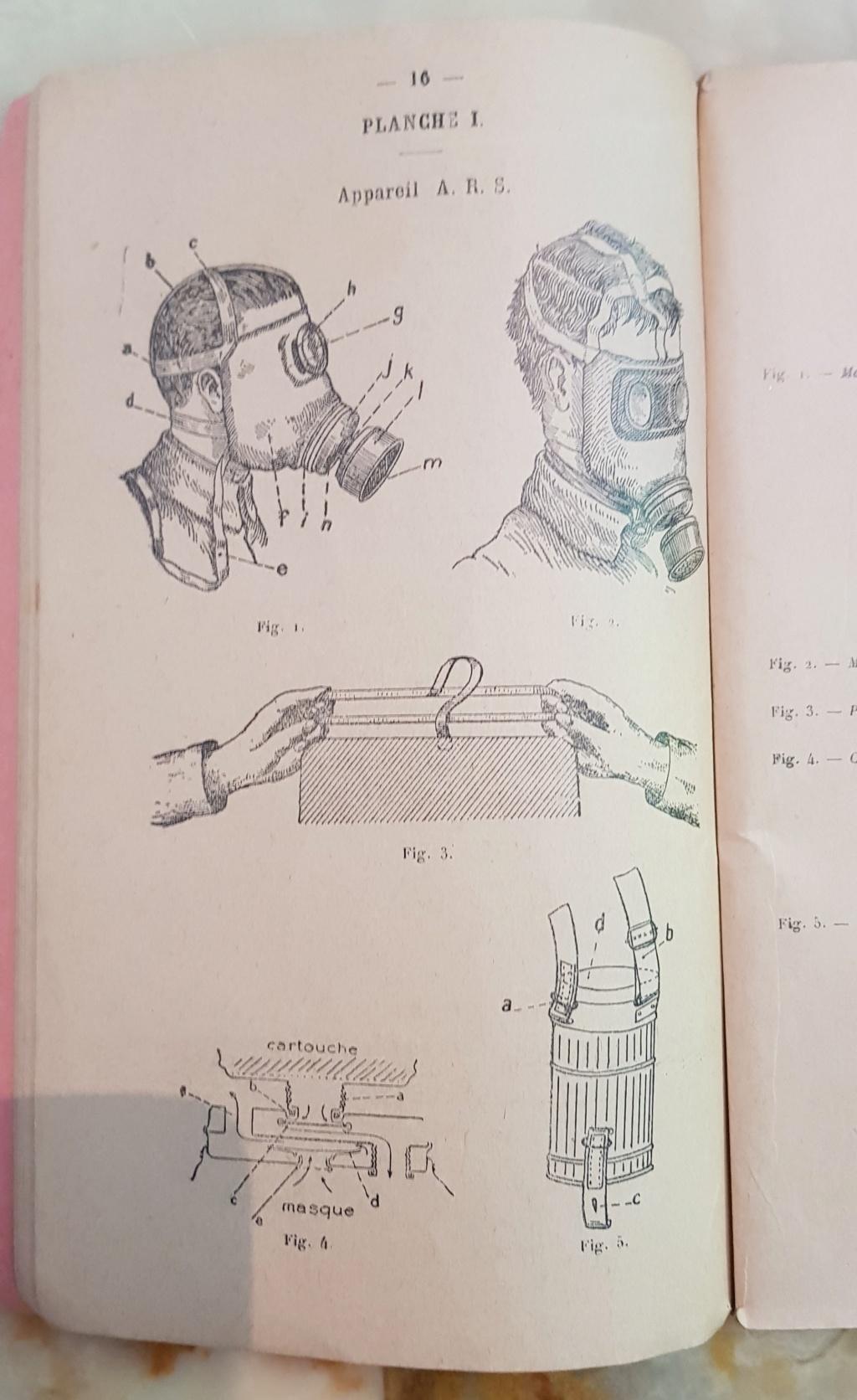 Instruction technique de protection contre les gazs - Edition 1929 20190622