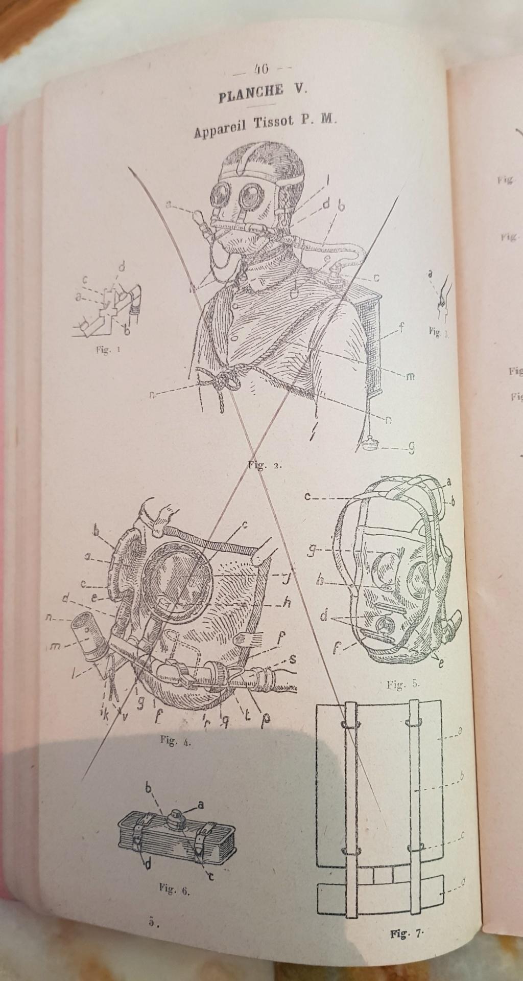 Instruction technique de protection contre les gazs - Edition 1929 20190624