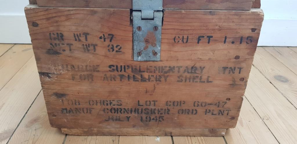 Datation caisse artillerie US 20190829