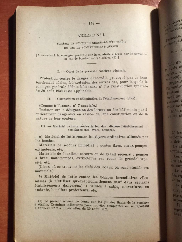 Manuel réglementaire de protection contre l'incendie - Edition 1940 8b2f4310