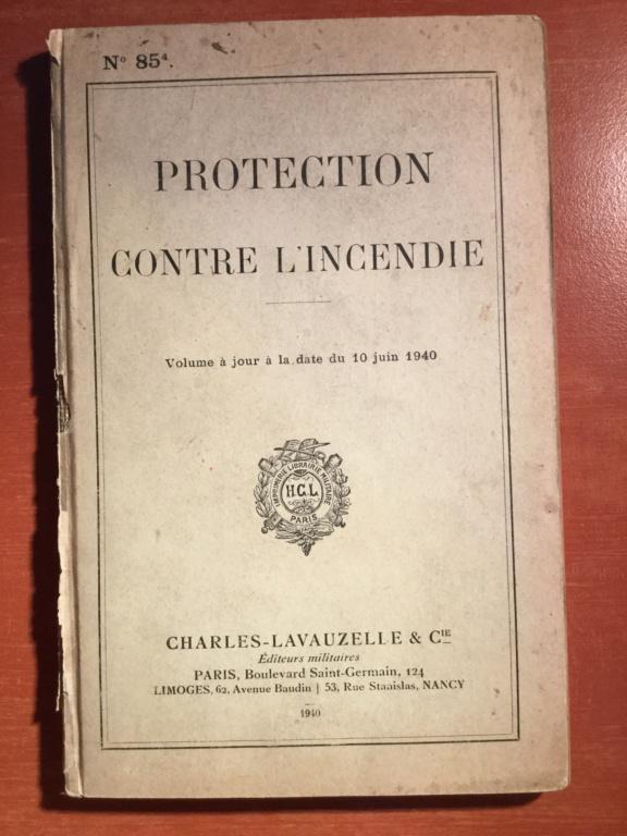 Manuel réglementaire de protection contre l'incendie - Edition 1940 C15c6f10
