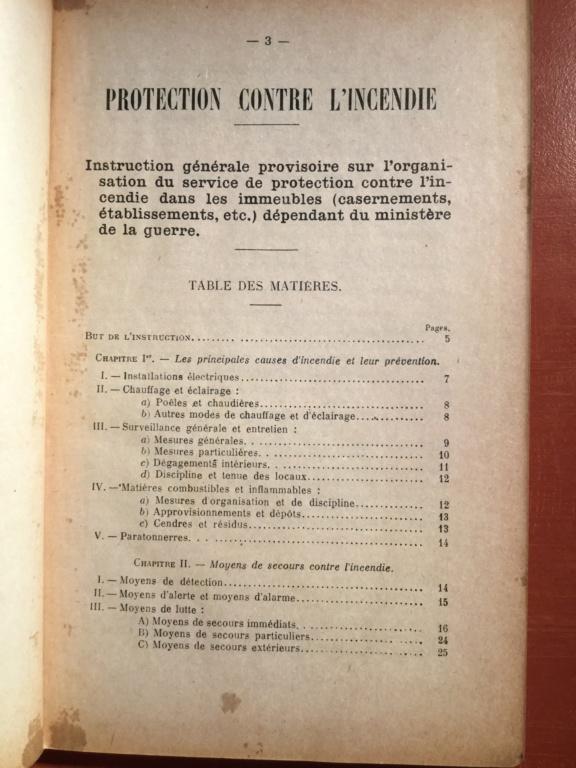 Manuel réglementaire de protection contre l'incendie - Edition 1940 E7c1bc10