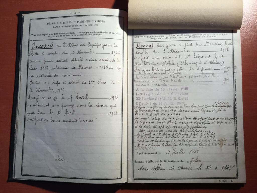 Papiers d'un gendarme F0181310