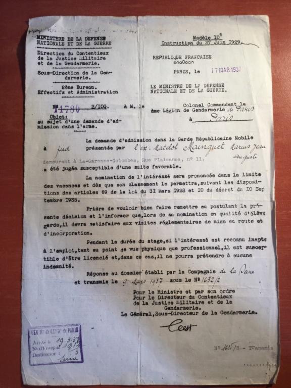 Papiers d'un gendarme F0526c10