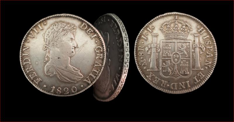 Dudas sobre un 8 reales de Fernando VII, 1820, México.  Fernan10