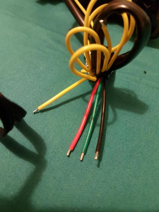 Branchement Feux arrière LED 59189010