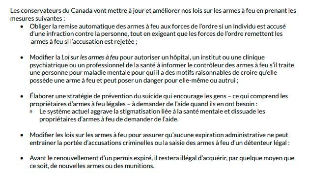 Plan du Parti Conservateur du Canada 9711