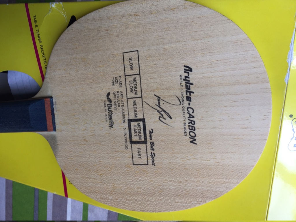 Butterfly timo boll Spirit old tag  Img_1610