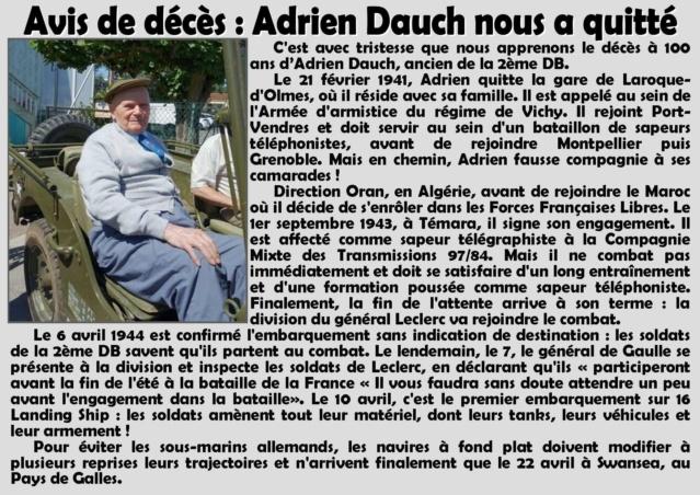 Adrien Dauch - 97/84 CMT - 1921-2021 17212410