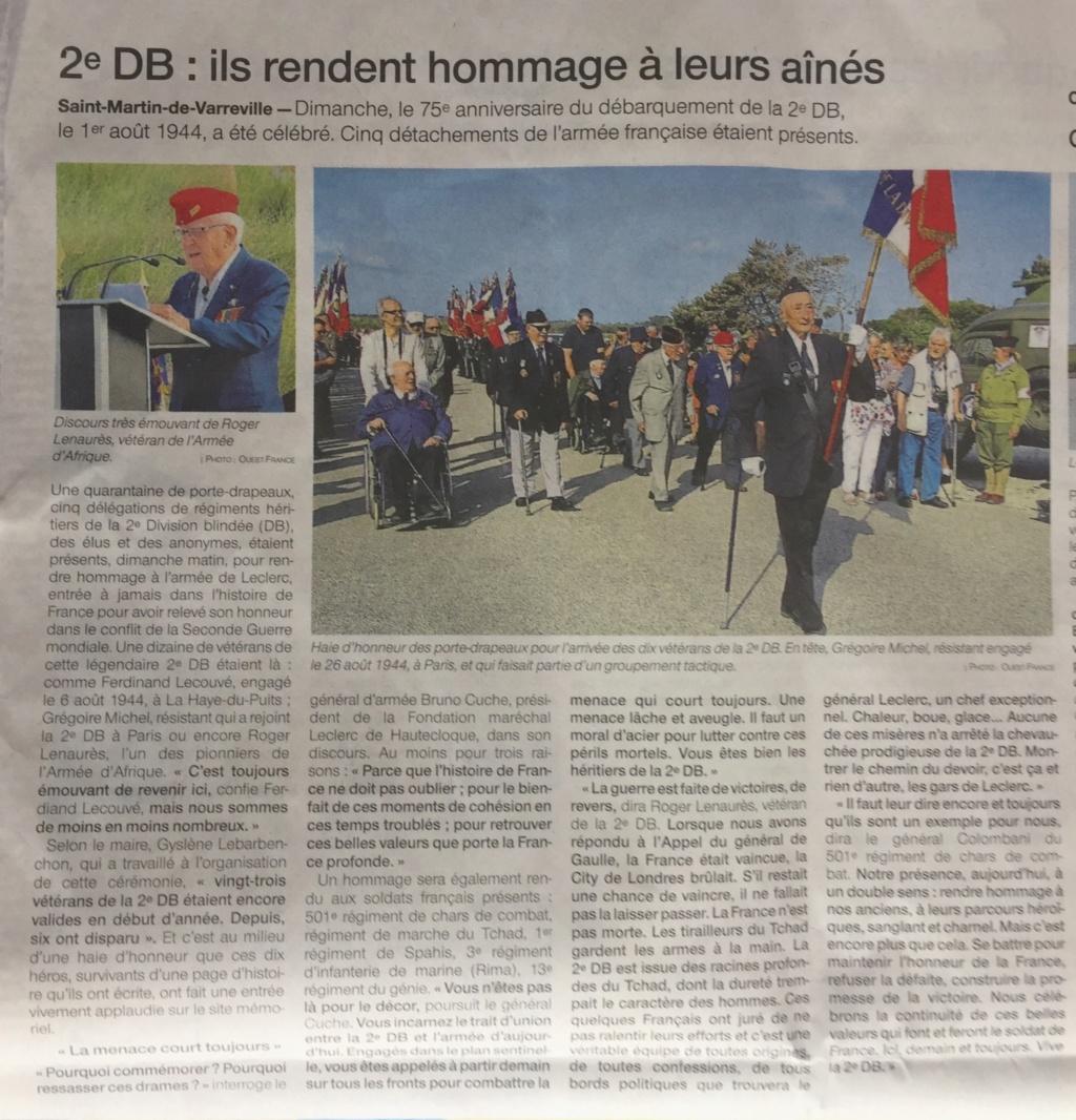 St Martin de Varreville 2019 dans la presse locale 2dbof11