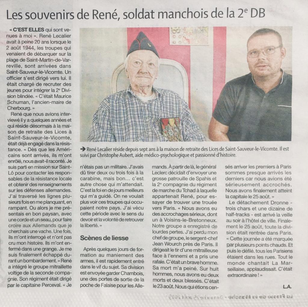 75e libération Paris : souvenirs de René Lecalier Img_1510