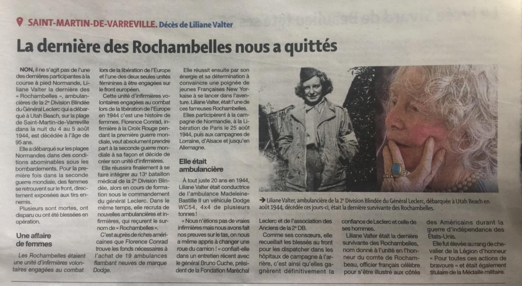 Liliane Valter, dernière des Rochambelles, s'en est allée Img_1910