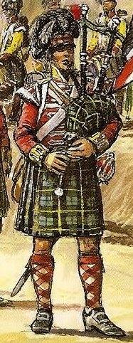 42nd (Royal Highland) Regiment of Foot en 1815 au 1/72 92zome11