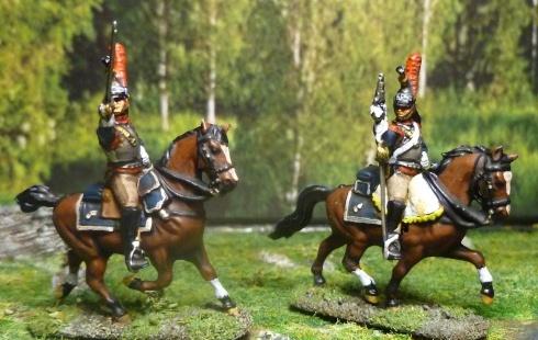 Cuirassiers français en 1812 au 1/72 P1070712