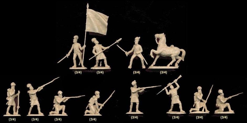 42nd (Royal Highland) Regiment of Foot en 1815 au 1/72 Sprue10