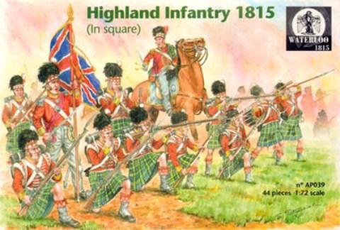 42nd (Royal Highland) Regiment of Foot en 1815 au 1/72 Watap010