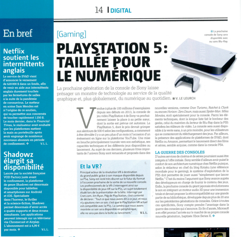 PS5 vs XBOX séries X (Dossier) - Page 4 Ps510