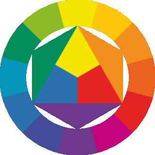 2020-03 - Artistique : Titres et couleurs complémentaires ! Roue11