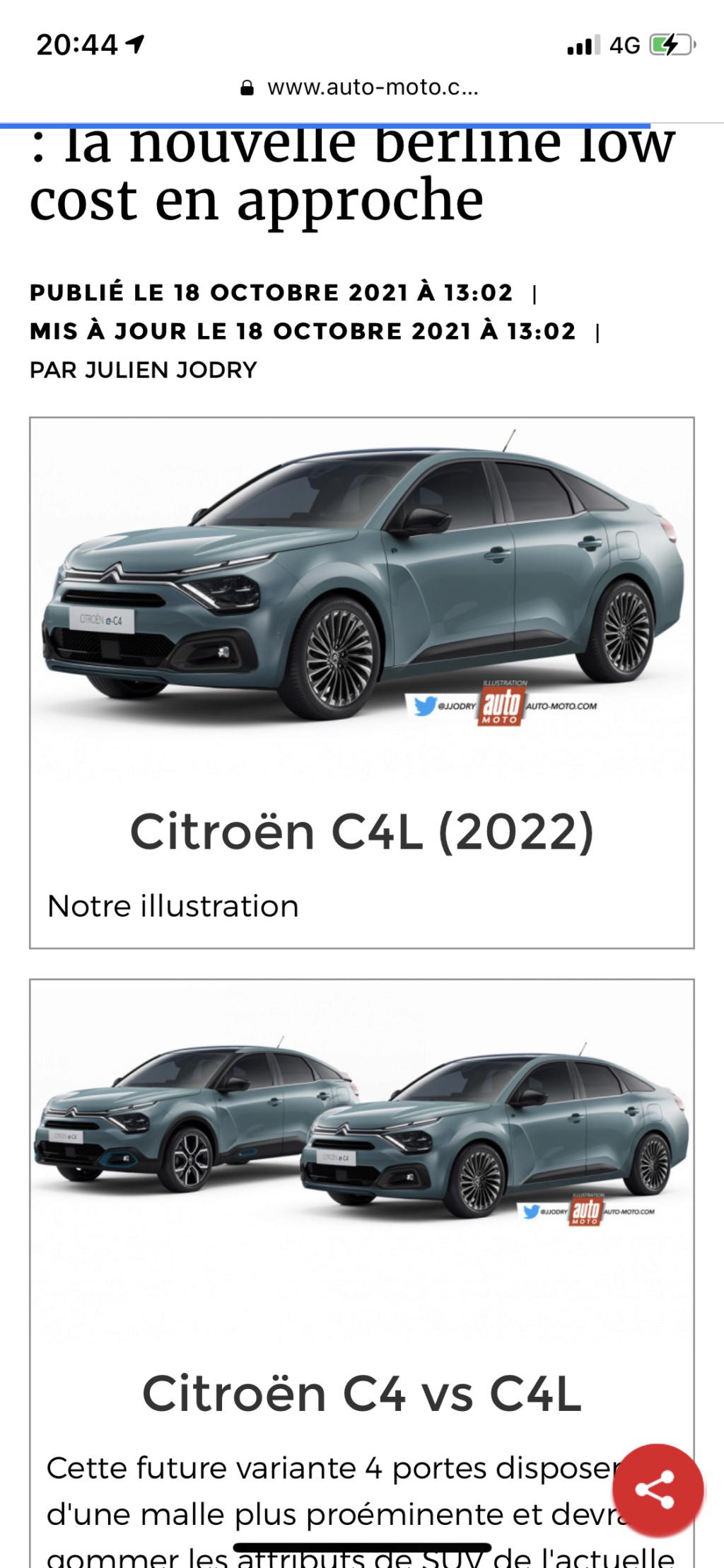 2021 - [Citroën] C4 L [C43] Abf97810
