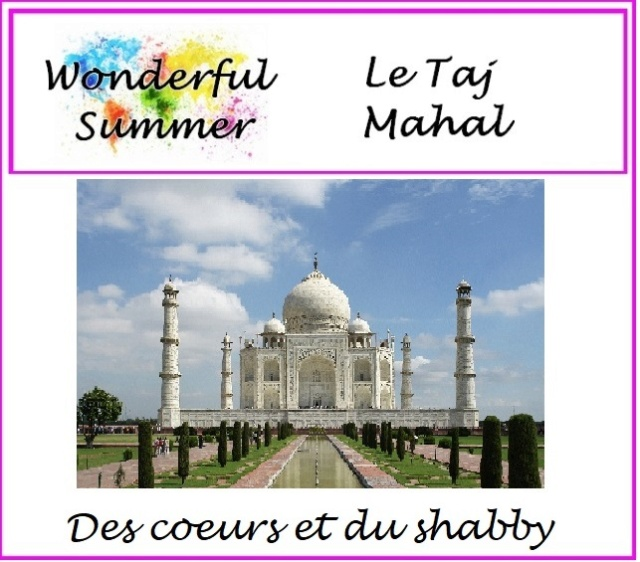 Wonderful Summer {Le Taj Mahal} by Kinna Encart13