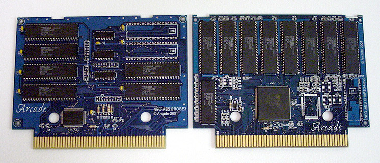 Info productions AES !ARCADE! Pcbset10