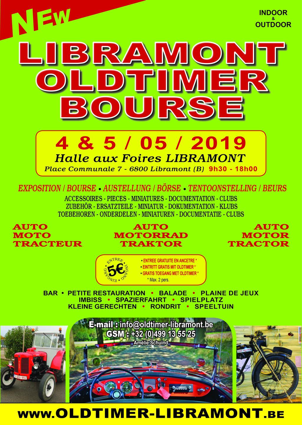 Libramont Oldtimer bourse - 4 & 5 mai 2019 Visuel10