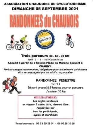 dimanche 05 septembre 2021 rando cyclo du chaunois 23361810
