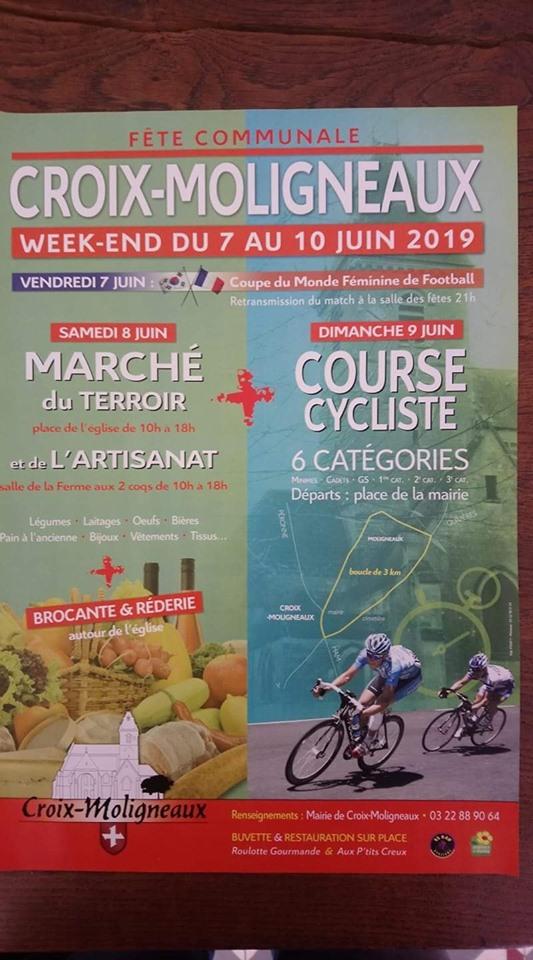 9 juin course sur route a croix mouligneaux 61417610