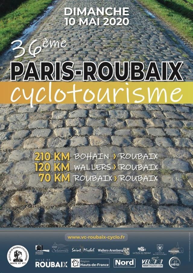 paris-roubaix cyclo dimanche 10 mai 2020 71012610