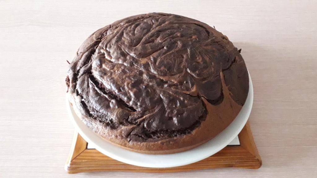 Aujourd'hui, pour les 61 ans de ma mère, j'ai fait mon tout premier gâteau! :) 20190410
