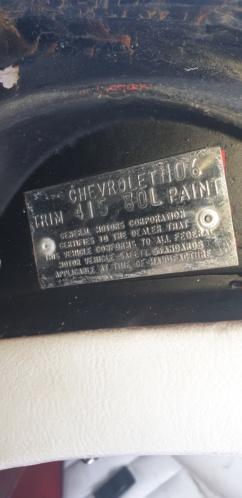 décodage plaque trim corvette 1974 20200112