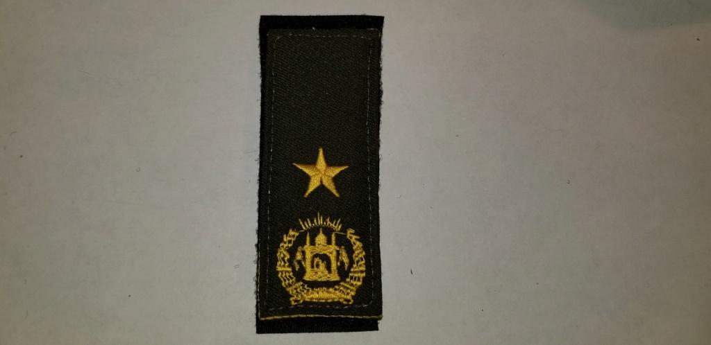 Afghan Insignia 20190620