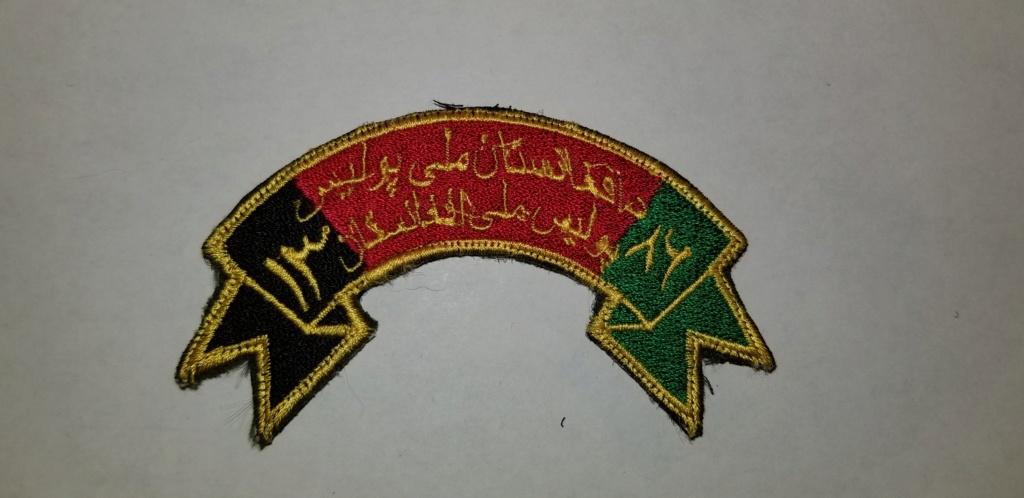 Afghan Insignia 20190621