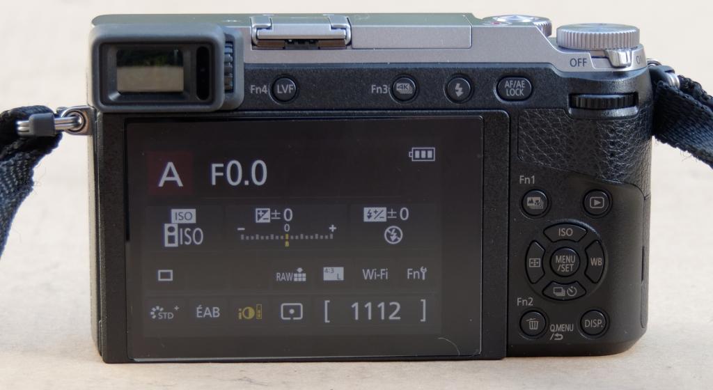 Vends Panasonic GX80 Silver Nu Garanti P1020810