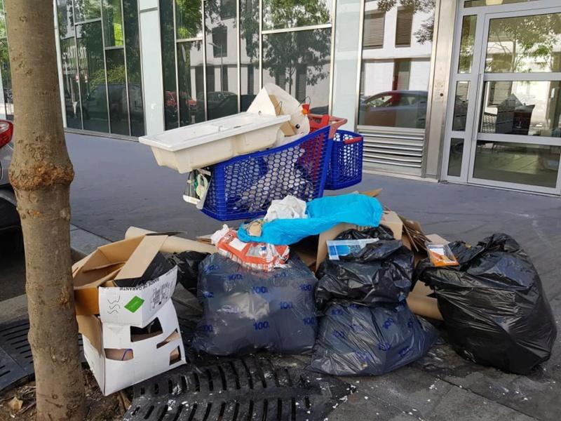 Encombrants, poubelles et caddies 65819310