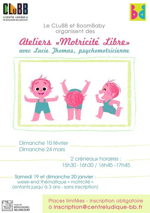 Centre Ludique de Boulogne-Billancourt (CLuBB) Atelie10
