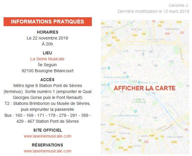 Concerts et spectacles à la Seine Musicale de l'île Seguin Clip1013