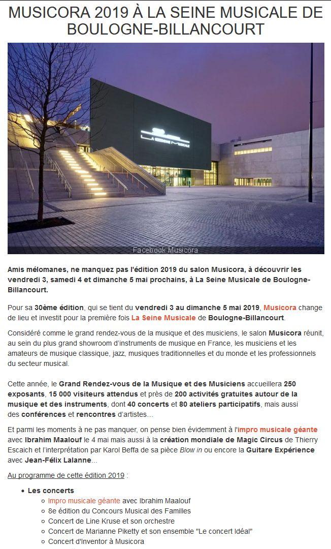Concerts et spectacles à la Seine Musicale de l'île Seguin Clip1027