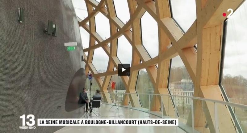 La Seine Musicale de l'île Seguin Clip1032