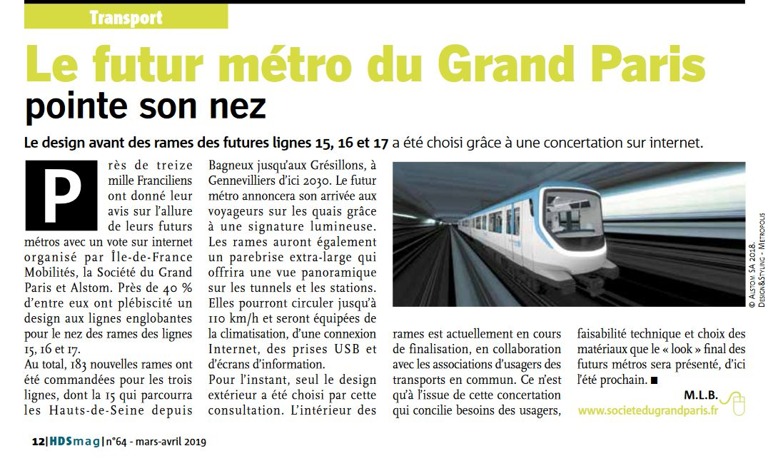Transports en commun - Grand Paris Express Clip1042