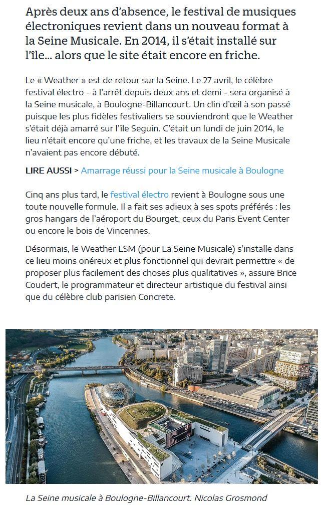 Concerts et spectacles à la Seine Musicale de l'île Seguin Clip1058