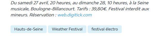 Concerts et spectacles à la Seine Musicale de l'île Seguin Clip1061