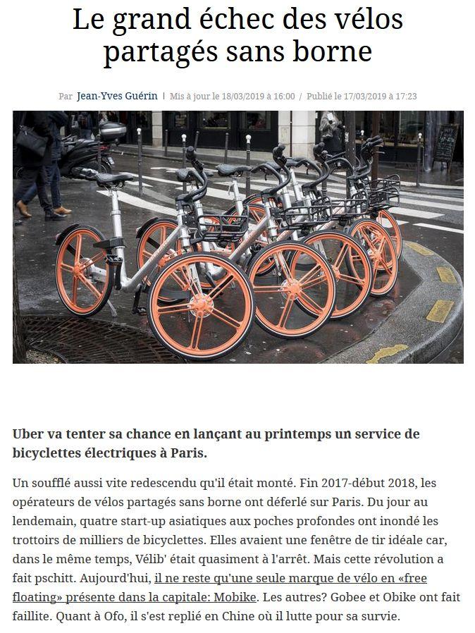 Concurrents de Vélib Clip1063