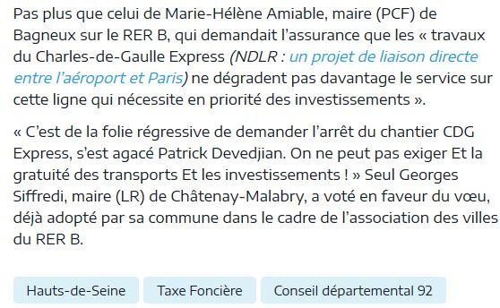 Informations sur les Hauts-de-Seine Clip1073