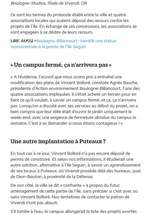 Campus Boulogne-Studios / Vivendi Clip1081