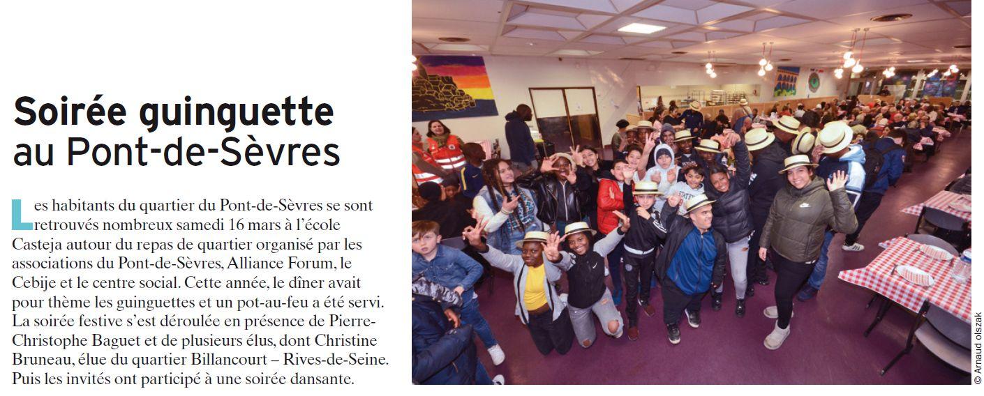 Repas du quartier du pont de Sèvres Clip1098