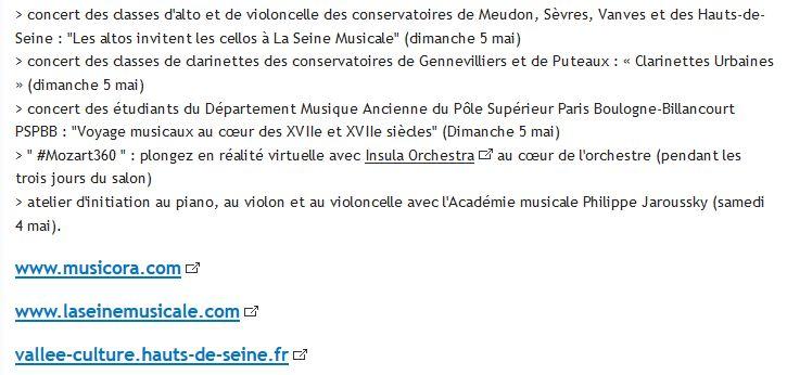 Expositions et évènements à la Seine Musicale de l'île Seguin Clip1183