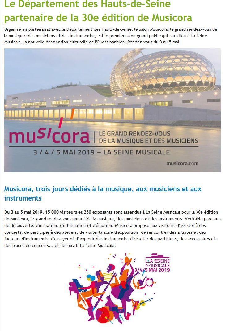 Expositions et évènements à la Seine Musicale de l'île Seguin Clip1184