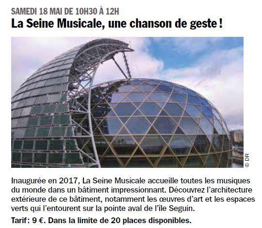 La Seine Musicale de l'île Seguin Clip1218