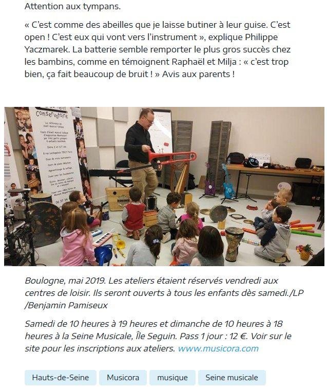 Expositions et évènements à la Seine Musicale de l'île Seguin Clip1228